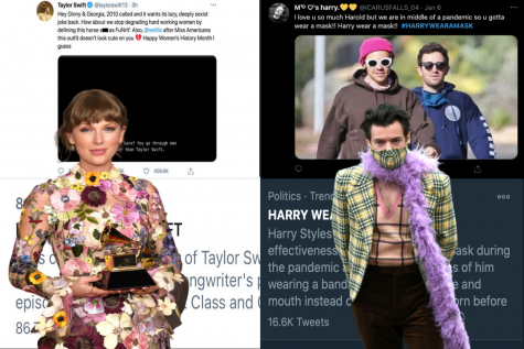 In reaction to scandals involving Harry Styles and Taylor Swift, their respective hashtags had a total of 103,300 tweets between the two of them.