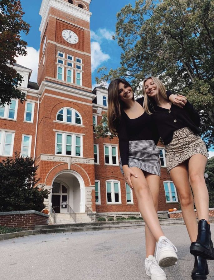 """Cecilia Williams ('21) said, """"I am planning on attending Clemson in the fall because of the atmosphere, exciting student life, and amazing college of business."""""""