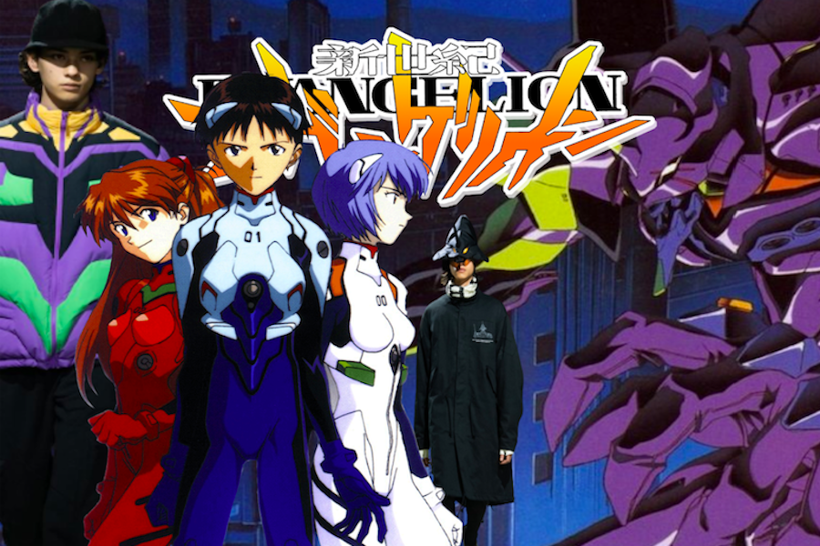 Neon Genesis Evangelion remains one of the most influential animes to exist. The show continues to inspire millions, including the fashion industry, since its release in the 90's.