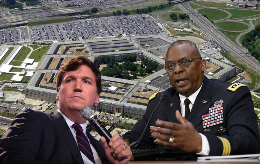 Fox News Broadcaster Tucker Carlson was met with backlash from the Pentagon over a series of comments he made about women in the military.
