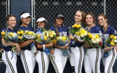 The AHN Softball team's graduating seniors.
