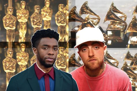 Chadwick Boseman and Mac Miller