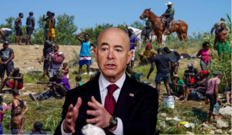 Secretary of Homeland Security, Alejandro Mayorkas addresses border crisis involving Haitian immigrants.