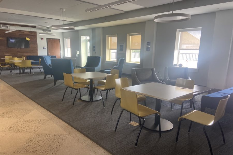 AHN has worked to foster a more collaborative environment with the installation of more common areas in the recent renovations.