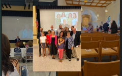 Sister Mary Patricia was celebrated by teachers, former students, family, and friends