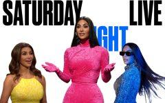 Kim Kardashian West hosted SNL Sept 9. 2021.
